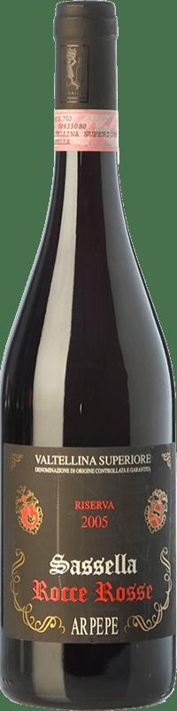 87,95 € Free Shipping | Red wine Ar.Pe.Pe. Sassella Riserva Rocce Rosse Reserva 2009 D.O.C.G. Valtellina Superiore Lombardia Italy Nebbiolo Bottle 75 cl