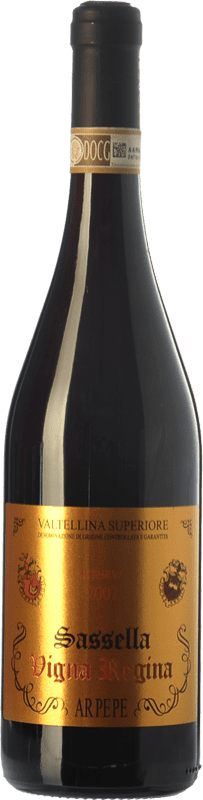 87,95 € Free Shipping | Red wine Ar.Pe.Pe. Sassella Riserva Vigna Regina Reserva 2009 D.O.C.G. Valtellina Superiore Lombardia Italy Nebbiolo Bottle 75 cl