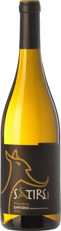 8,95 € Free Shipping | White wine Arché Pagés Sàtirs Blanc D.O. Empordà Catalonia Spain Macabeo Bottle 75 cl