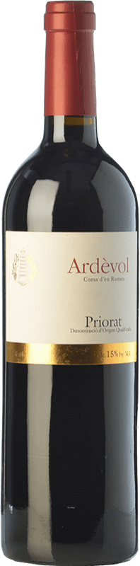 21,95 € Free Shipping | Red wine Ardèvol Coma d'en Romeu Crianza D.O.Ca. Priorat Catalonia Spain Merlot, Syrah, Grenache, Cabernet Sauvignon Bottle 75 cl