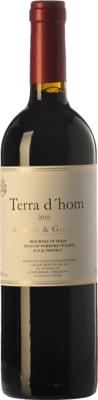 41,95 € | Red wine Ardèvol Terra d'Hom Crianza 2010 D.O.Ca. Priorat Catalonia Spain Syrah Bottle 75 cl