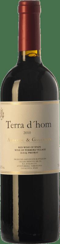 41,95 € Envoi gratuit | Vin rouge Ardèvol Terra d'Hom Crianza D.O.Ca. Priorat Catalogne Espagne Syrah Bouteille 75 cl