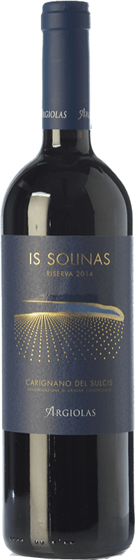 25,95 € | Red wine Argiolas Is Solinas I.G.T. Isola dei Nuraghi Sardegna Italy Carignan, Bobal Bottle 75 cl