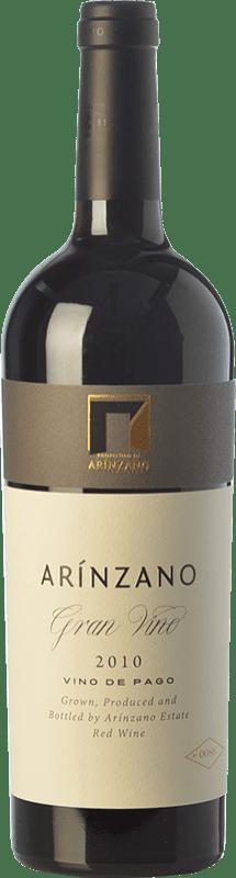 79,95 € | Red wine Arínzano Gran Vino Crianza 2010 D.O.P. Vino de Pago de Arínzano Navarre Spain Tempranillo, Merlot Bottle 75 cl
