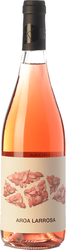 9,95 € Free Shipping | Rosé wine Aroa Larrosa D.O. Navarra Navarre Spain Tempranillo, Grenache Bottle 75 cl
