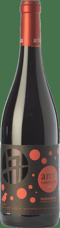6,95 € 免费送货 | 红酒 Aroa Garnatxa Joven D.O. Navarra 纳瓦拉 西班牙 Grenache 瓶子 75 cl