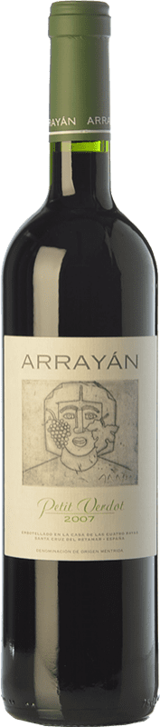 22,95 € Free Shipping | Red wine Arrayán Crianza D.O. Méntrida Castilla la Mancha Spain Petit Verdot Bottle 75 cl