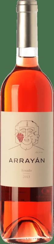 9,95 € Envoi gratuit | Vin rose Arrayán D.O. Méntrida Castilla La Mancha Espagne Merlot, Syrah, Cabernet Sauvignon, Petit Verdot Bouteille 75 cl