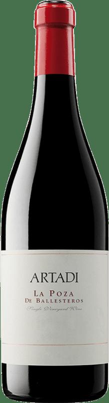 113,95 € Envío gratis | Vino tinto Artadi La Poza de Ballesteros Crianza D.O.Ca. Rioja La Rioja España Tempranillo Botella 75 cl