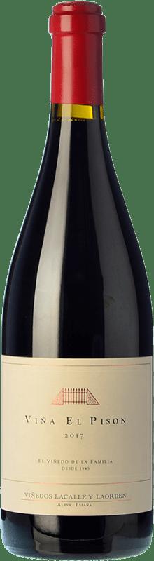 409,95 € 免费送货 | 红酒 Artadi Viña el Pisón Crianza D.O.Ca. Rioja 拉里奥哈 西班牙 Tempranillo 瓶子 75 cl