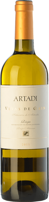 24,95 € Free Shipping | White wine Artadi Viñas de Gain Crianza D.O.Ca. Rioja The Rioja Spain Viura Bottle 75 cl
