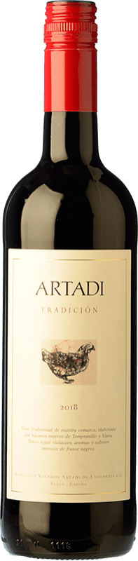 9,95 € | Red wine Artadi Joven Spain Tempranillo, Viura Bottle 75 cl
