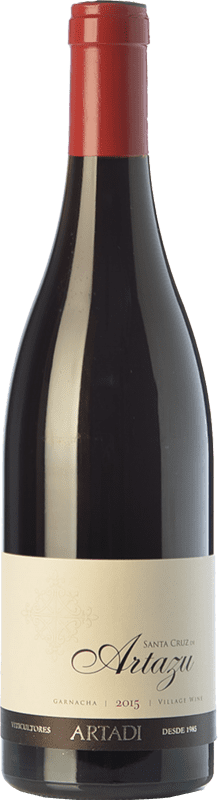 28,95 € Free Shipping | Red wine Artazu Santa Cruz Crianza D.O. Navarra Navarre Spain Grenache Bottle 75 cl