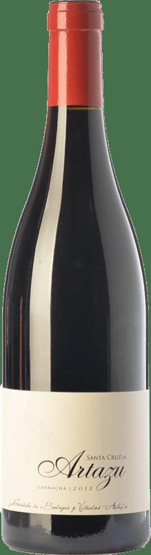 69,95 € Envío gratis | Vino tinto Artazu Santa Cruz Crianza D.O. Navarra Navarra España Garnacha Botella Mágnum 1,5 L