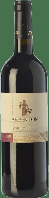9,95 € | Red wine Arzenton D.O.C. Colli Orientali del Friuli Friuli-Venezia Giulia Italy Merlot Bottle 75 cl