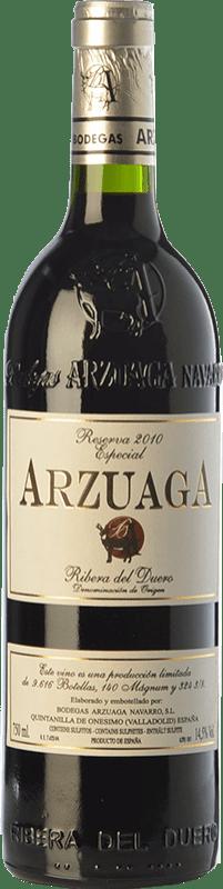 73,95 € Envío gratis | Vino tinto Arzuaga Especial Reserva D.O. Ribera del Duero Castilla y León España Tempranillo Botella 75 cl
