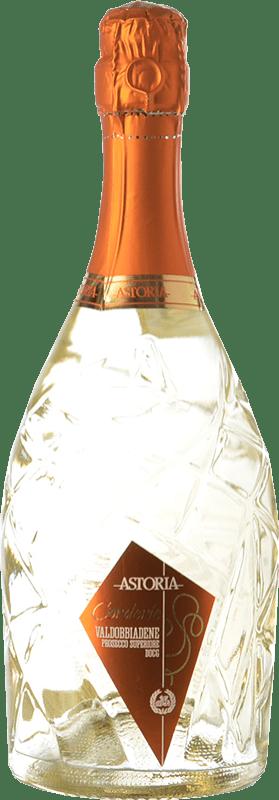 19,95 € Free Shipping | White sparkling Astoria Corderìe D.O.C.G. Prosecco di Conegliano-Valdobbiadene Treviso Italy Glera Bottle 75 cl