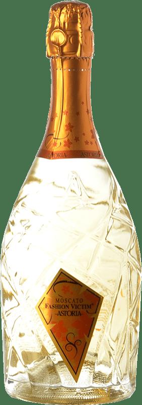 14,95 € Envío gratis | Espumoso blanco Astoria Fashion Victim Moscato Italia Moscatel Blanco Botella 75 cl