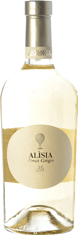 19,95 € 免费送货   白酒 Astoria Alisia I.G.T. Friuli-Venezia Giulia 弗留利 - 威尼斯朱利亚 意大利 Pinot Grey 瓶子 75 cl