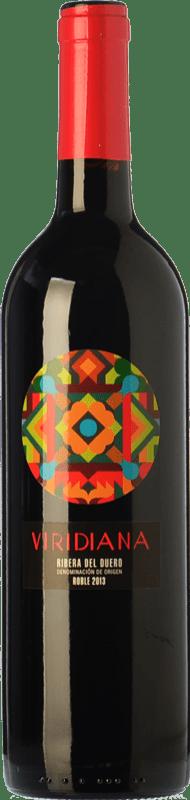 7,95 € | Red wine Atalayas de Golbán Viridiana Joven D.O. Ribera del Duero Castilla y León Spain Tempranillo Bottle 75 cl