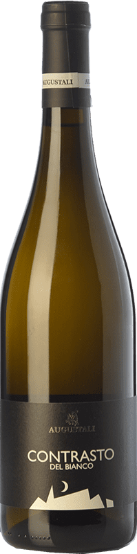 14,95 € Free Shipping | White wine Augustali Contrasto del Bianco I.G.T. Terre Siciliane Sicily Italy Vermentino, Catarratto Bottle 75 cl