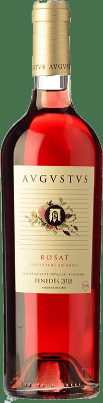 7,95 € Free Shipping | Rosé wine Augustus Rosat D.O. Penedès Catalonia Spain Merlot, Cabernet Sauvignon Bottle 75 cl