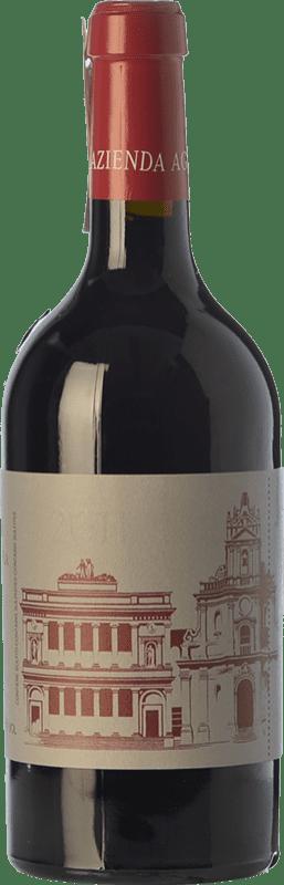 38,95 € Envío gratis | Vino tinto Cos delle Fontane D.O.C.G. Cerasuolo di Vittoria Sicilia Italia Nero d'Avola, Frappato Botella 75 cl
