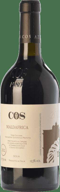 22,95 € Envío gratis | Vino tinto Cos Maldafrica I.G.T. Terre Siciliane Sicilia Italia Merlot, Cabernet Sauvignon, Frappato Botella 75 cl