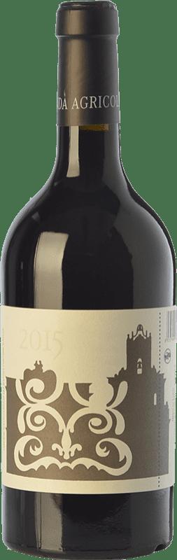 19,95 € Envío gratis | Vino tinto Cos Nero di Lupo I.G.T. Terre Siciliane Sicilia Italia Nero d'Avola Botella 75 cl