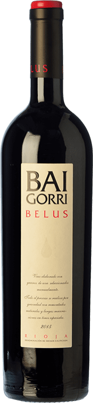 26,95 € Free Shipping | Red wine Baigorri Belus Joven D.O.Ca. Rioja The Rioja Spain Tempranillo, Grenache, Mazuelo Bottle 75 cl