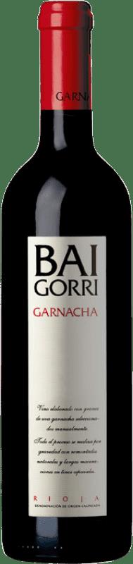 26,95 € Envoi gratuit | Vin rouge Baigorri Belus Joven D.O.Ca. Rioja La Rioja Espagne Tempranillo, Grenache, Mazuelo Bouteille 75 cl