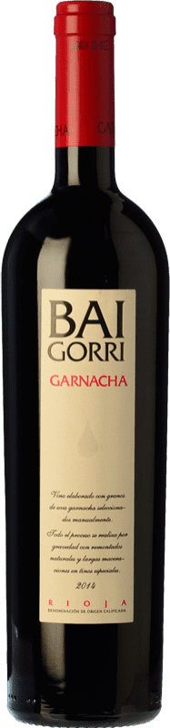 26,95 € Free Shipping | Red wine Baigorri Crianza D.O.Ca. Rioja The Rioja Spain Grenache Bottle 75 cl