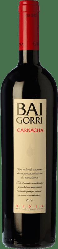 26,95 € Envoi gratuit | Vin rouge Baigorri Crianza D.O.Ca. Rioja La Rioja Espagne Grenache Bouteille 75 cl