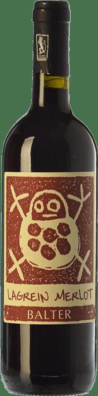 16,95 € | Red wine Balter Lagrein-Merlot I.G.T. Vallagarina Trentino Italy Merlot, Lagrein Bottle 75 cl