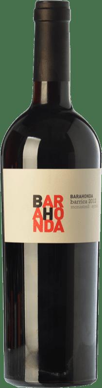 9,95 € 免费送货 | 红酒 Barahonda Barrica Joven D.O. Yecla 穆尔西亚地区 西班牙 Syrah, Monastrell 瓶子 75 cl