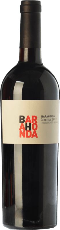 9,95 € Envoi gratuit   Vin rouge Barahonda Barrica Joven D.O. Yecla Région de Murcie Espagne Syrah, Monastrell Bouteille 75 cl