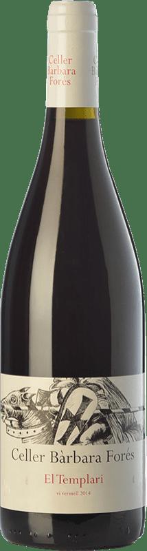 18,95 € Free Shipping | Red wine Bàrbara Forés El Templari Crianza D.O. Terra Alta Catalonia Spain Grenache, Morenillo Bottle 75 cl