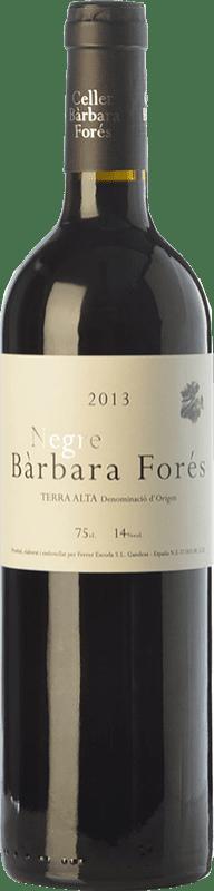 9,95 € Free Shipping | Red wine Bàrbara Forés Negre Crianza D.O. Terra Alta Catalonia Spain Syrah, Grenache, Carignan Bottle 75 cl