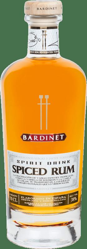 24,95 € Envoi gratuit | Rhum Bardinet Spiced Rum Hermanos Torres Espagne Bouteille 70 cl