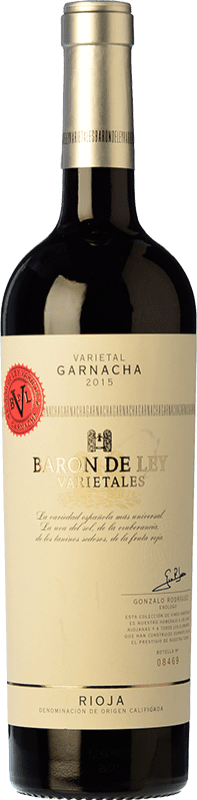 15,95 € | Red wine Barón de Ley Varietales Joven D.O.Ca. Rioja The Rioja Spain Grenache Bottle 75 cl