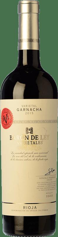 15,95 € Envío gratis   Vino tinto Barón de Ley Varietales Joven D.O.Ca. Rioja La Rioja España Garnacha Botella 75 cl