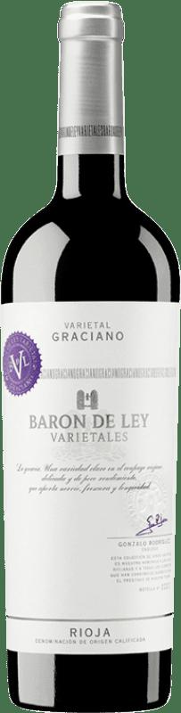 14,95 € Envoi gratuit   Vin rouge Barón de Ley Varietales Joven D.O.Ca. Rioja La Rioja Espagne Graciano Bouteille 75 cl