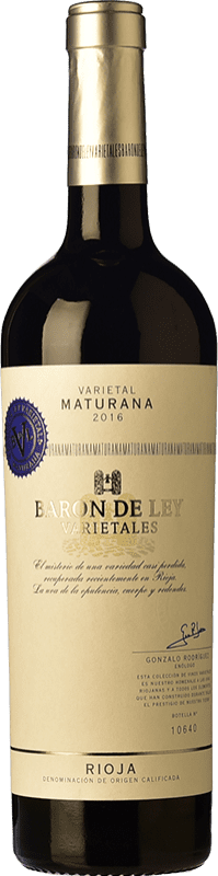 14,95 € | Red wine Barón de Ley Varietales Maturana Joven D.O.Ca. Rioja The Rioja Spain Maturana Tinta Bottle 75 cl