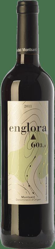 14,95 € Free Shipping | Red wine Baronia Englora Crianza D.O. Montsant Catalonia Spain Merlot, Syrah, Grenache, Cabernet Sauvignon, Samsó Bottle 75 cl