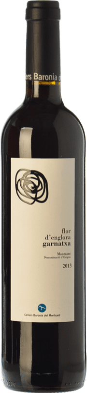 9,95 € Free Shipping | Red wine Baronia Flor d'Englora Garnatxa Joven D.O. Montsant Catalonia Spain Grenache Bottle 75 cl