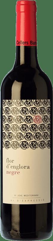 9,95 € Envío gratis | Vino tinto Baronia Flor d'Englora Garnatxa Joven D.O. Montsant Cataluña España Garnacha Botella 75 cl