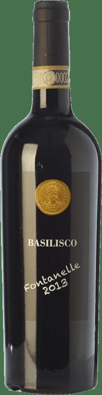 33,95 € Envío gratis | Vino tinto Basilisco Fontanelle D.O.C.G. Aglianico del Vulture Superiore Basilicata Italia Aglianico Botella 75 cl