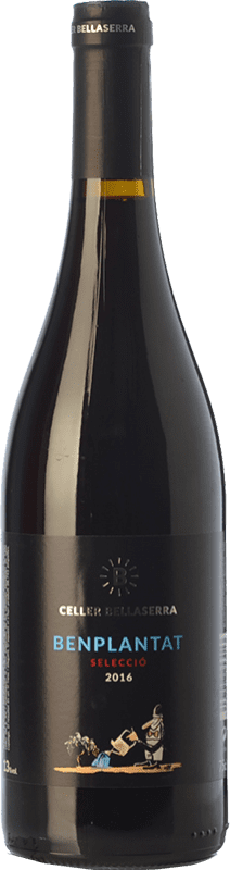6,95 € Free Shipping | Red wine Bellaserra Benplantat Sel·lecció Joven D.O. Catalunya Catalonia Spain Tempranillo, Merlot, Syrah, Grenache, Samsó, Sumoll Bottle 75 cl