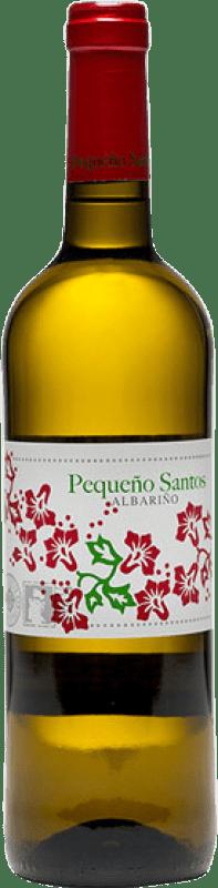 12,95 € Envío gratis | Vino blanco Benito Santos Pequeño Santos D.O. Rías Baixas Galicia España Albariño Botella 75 cl
