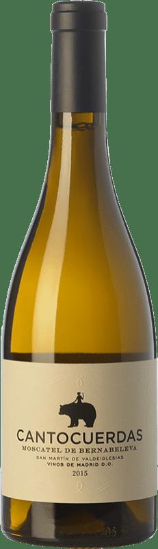 15,95 € Envoi gratuit | Vin blanc Bernabeleva Cantocuerdas Sec D.O. Vinos de Madrid La communauté de Madrid Espagne Muscat Bouteille 75 cl
